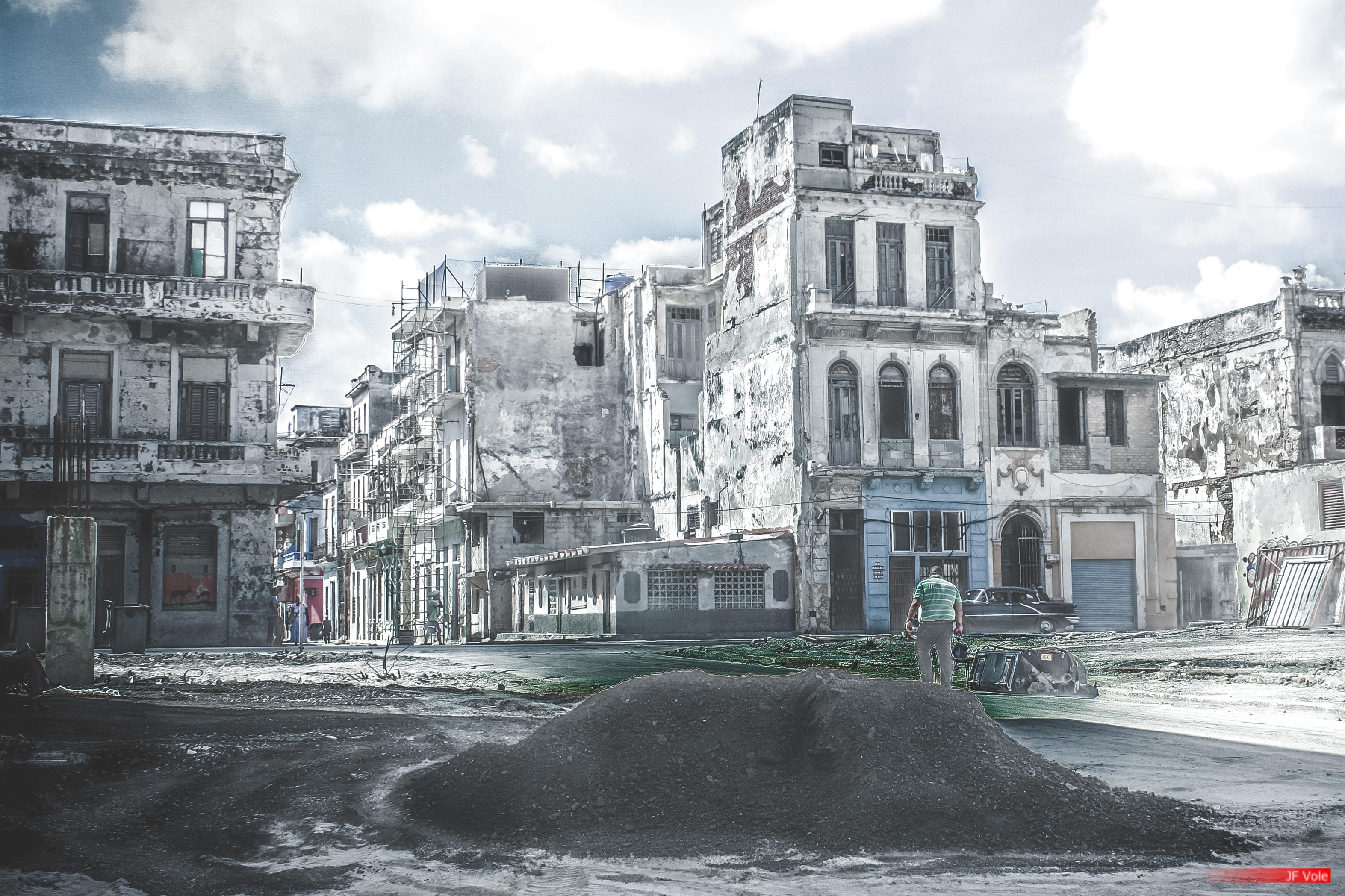 La Havane, mars 2014.