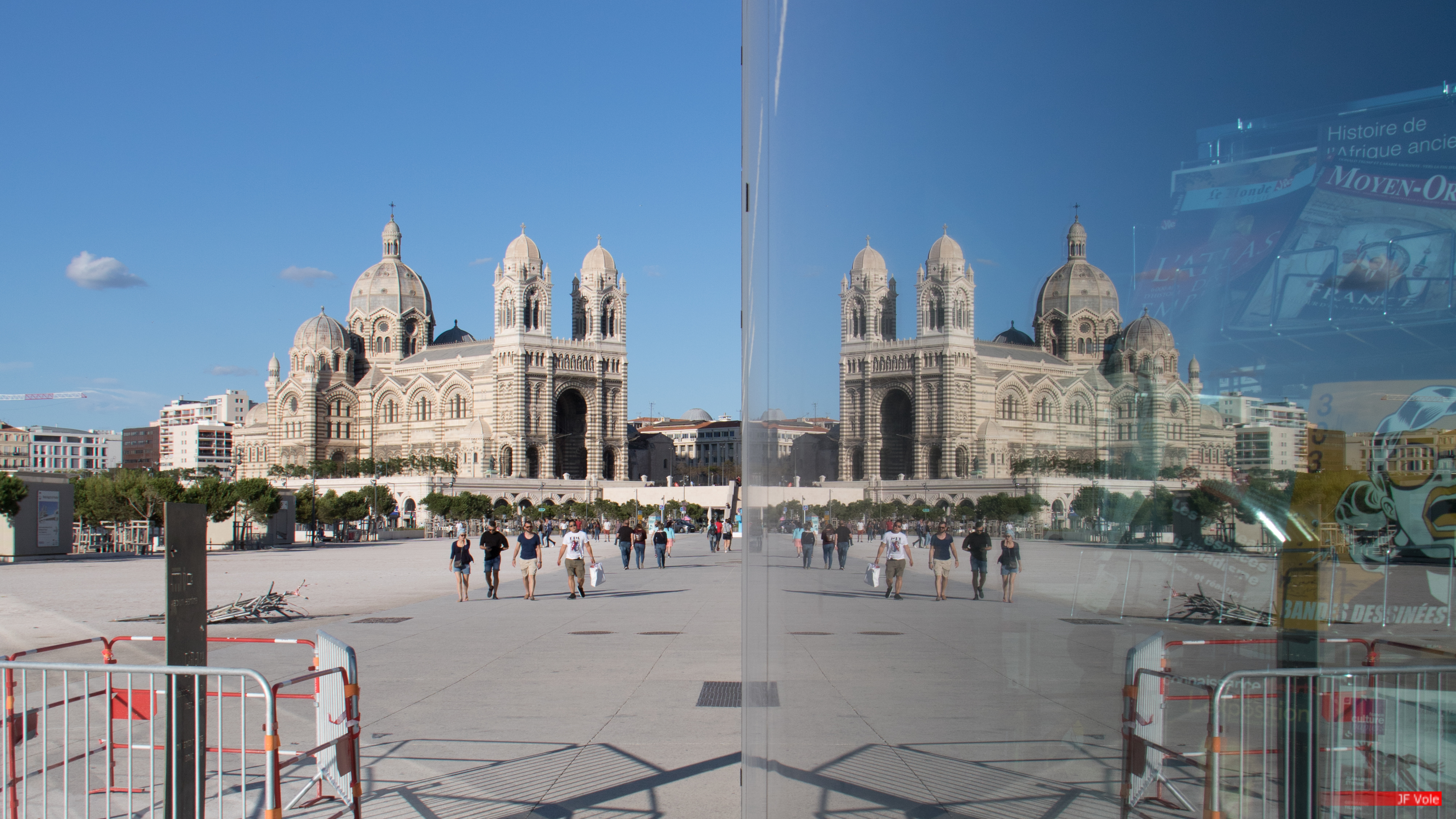 Cathédrale de la Major, Marseille, septembre 2017.