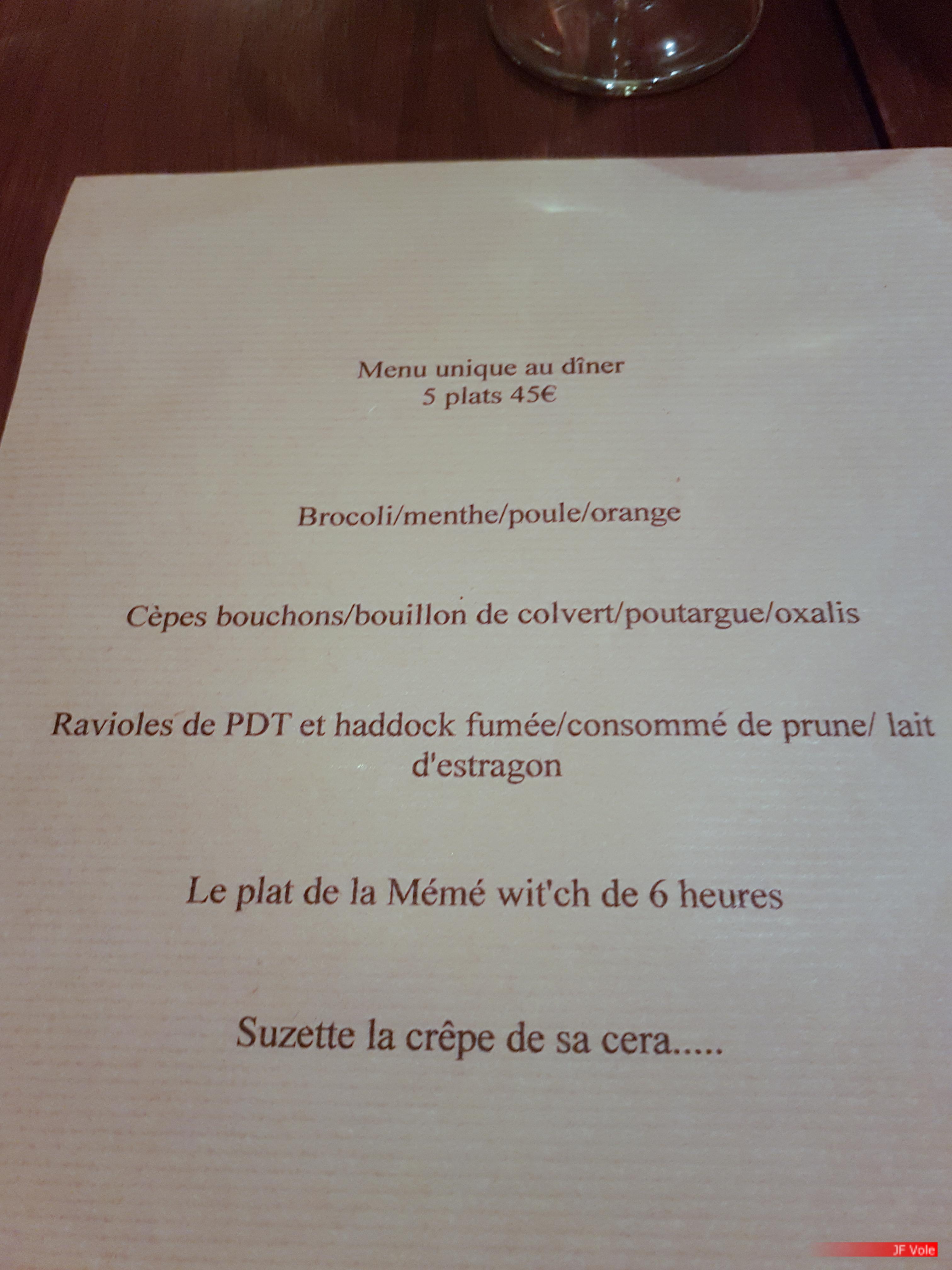 Mémé restaurant, Marseille septembre 2017.
