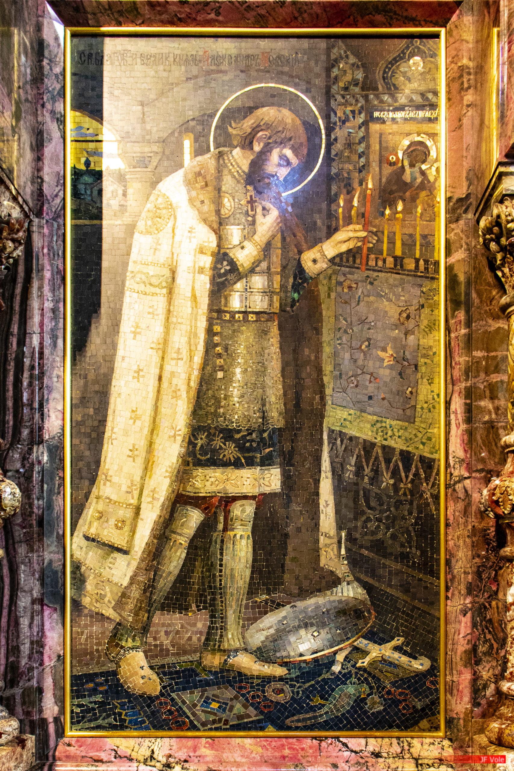 Cathédrale Saint-Sauveur-sur-le-Sang-Versé, Saint-Pétersbourg. Sptembre 2018.