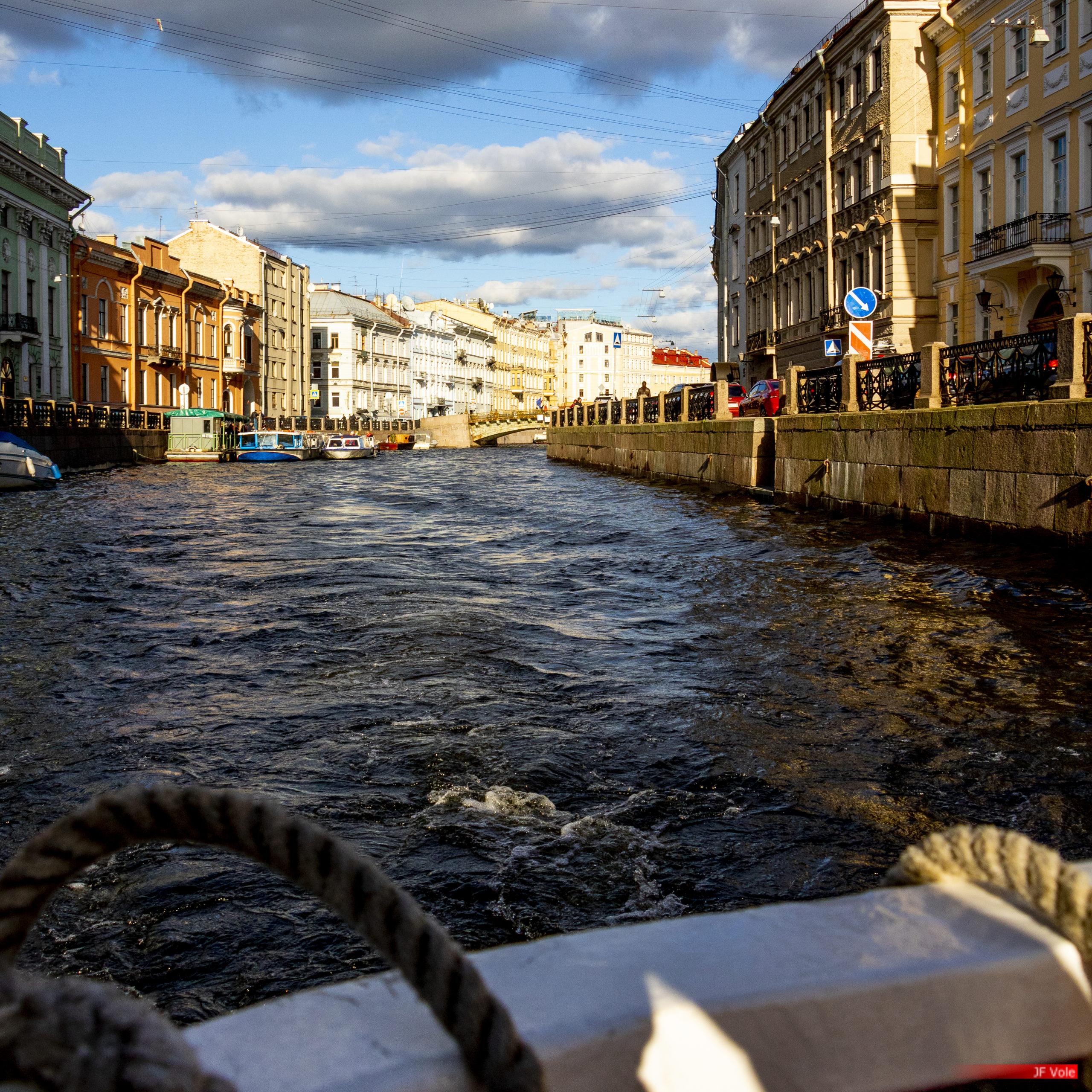 Moïka, Saint-Pétersbourg. Septembre 2018.