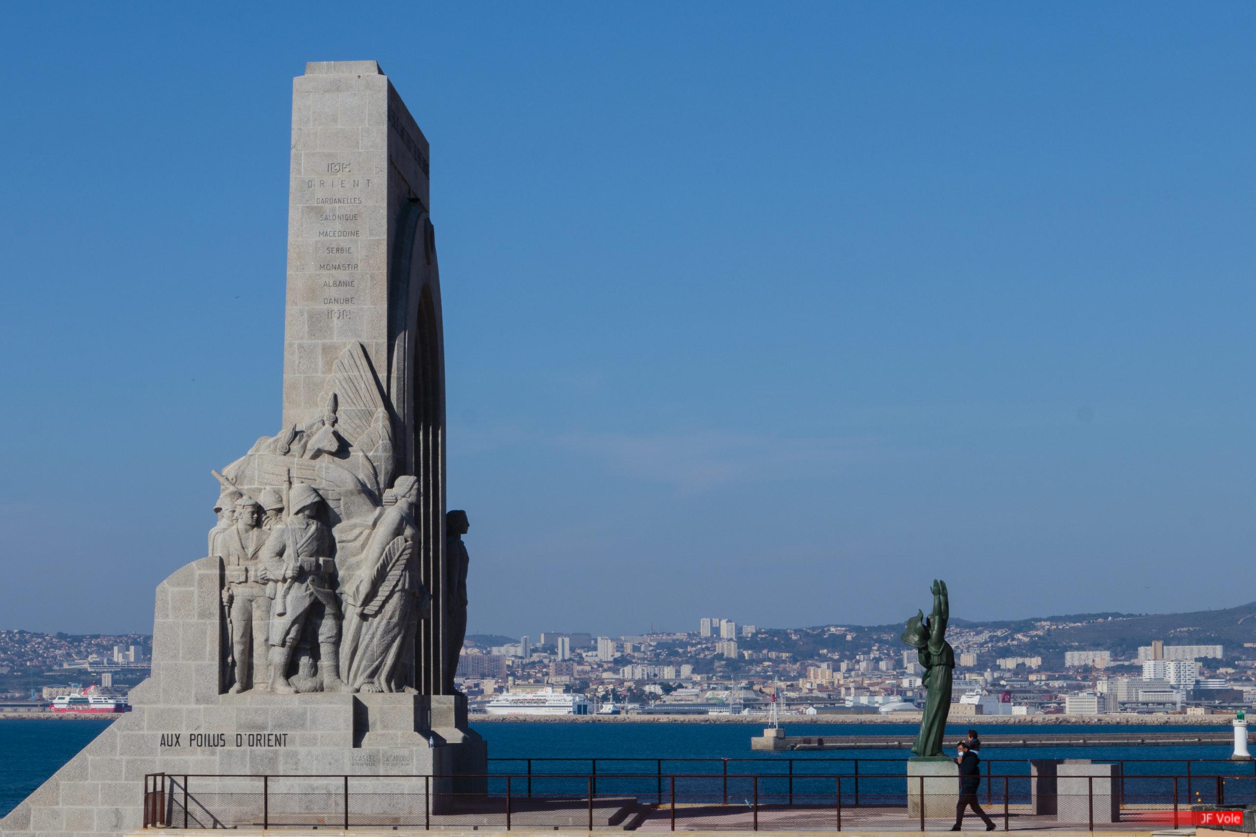 Corniche du Président-John-Fitzgerald-Kennedy, Marseille mars 2021.