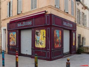 Place des Treize-Cantons, Marseille, march 2021.