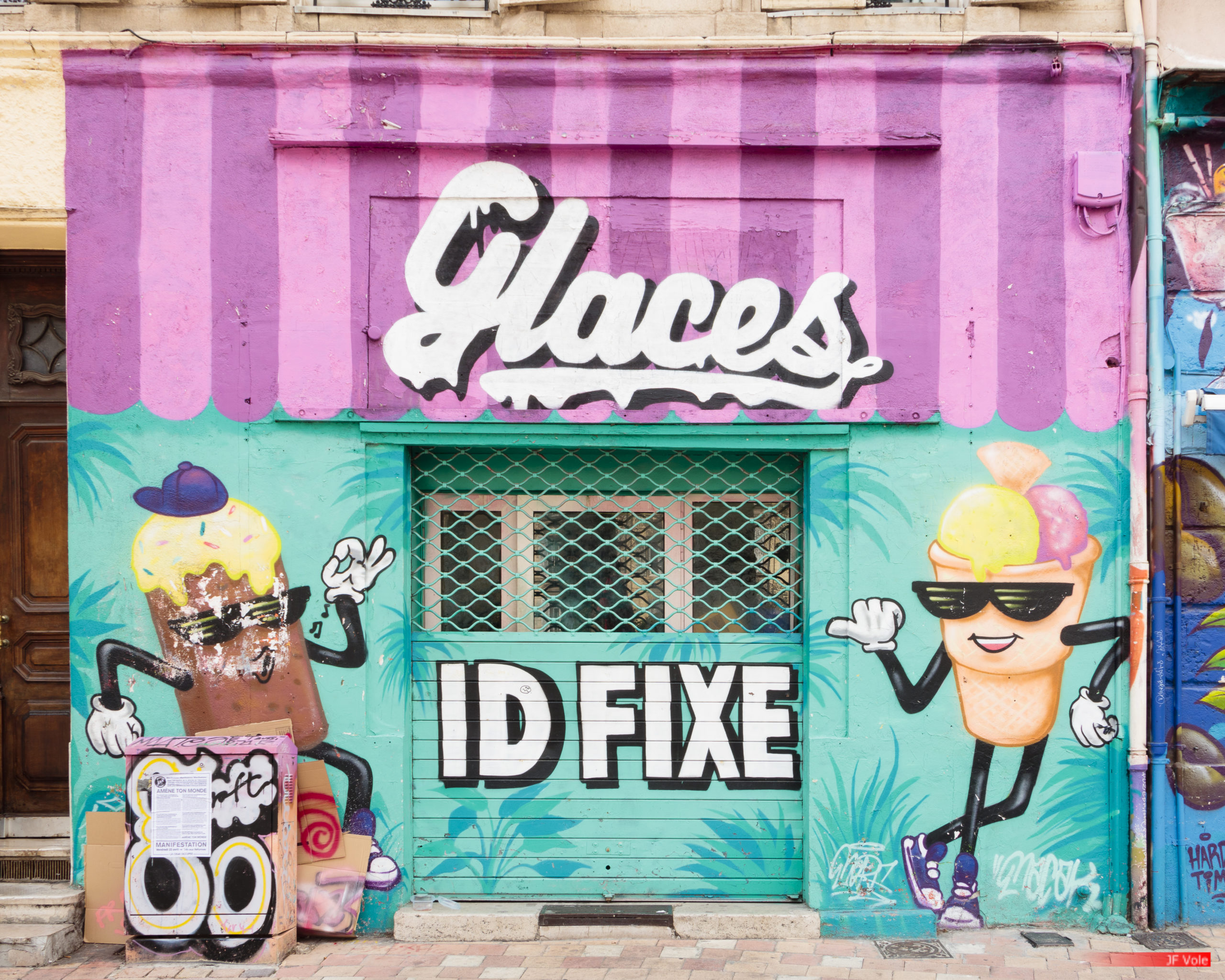 La Plaine - Cours Julien. Marseille. April 2021.