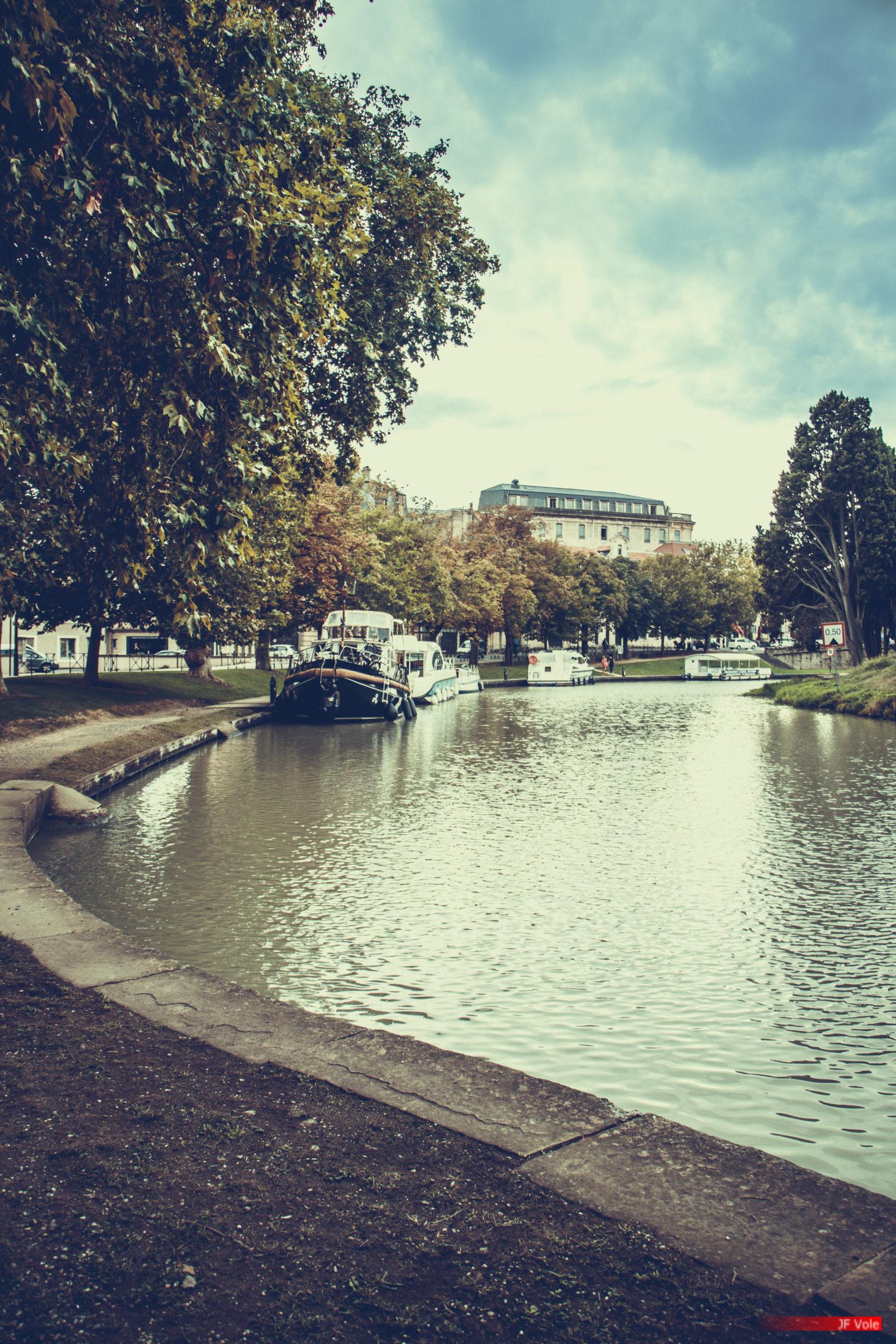 Écluse de Carcassonne 2109-01 Septembre 2021.